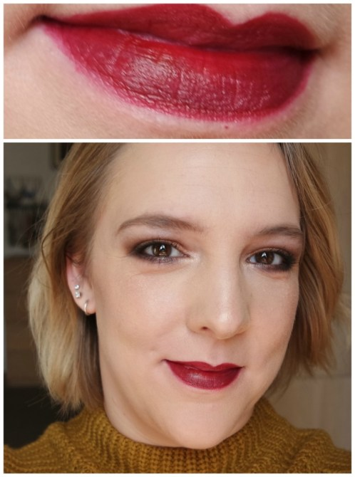 catrice lipstick prime and fine lip scrub aqua ink in gloss aqua ink lip liner lip dresser shine stylo I carried a watermelon don't copy my poppy let's mauve to the beach review swatch