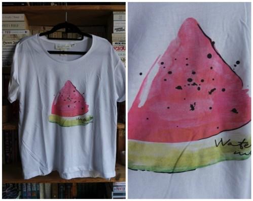 H&M watermelon print t-shirt haul