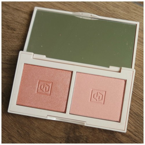 jouer blush duo blush bouquet rose gold rose petal marigold review swatch makeup look