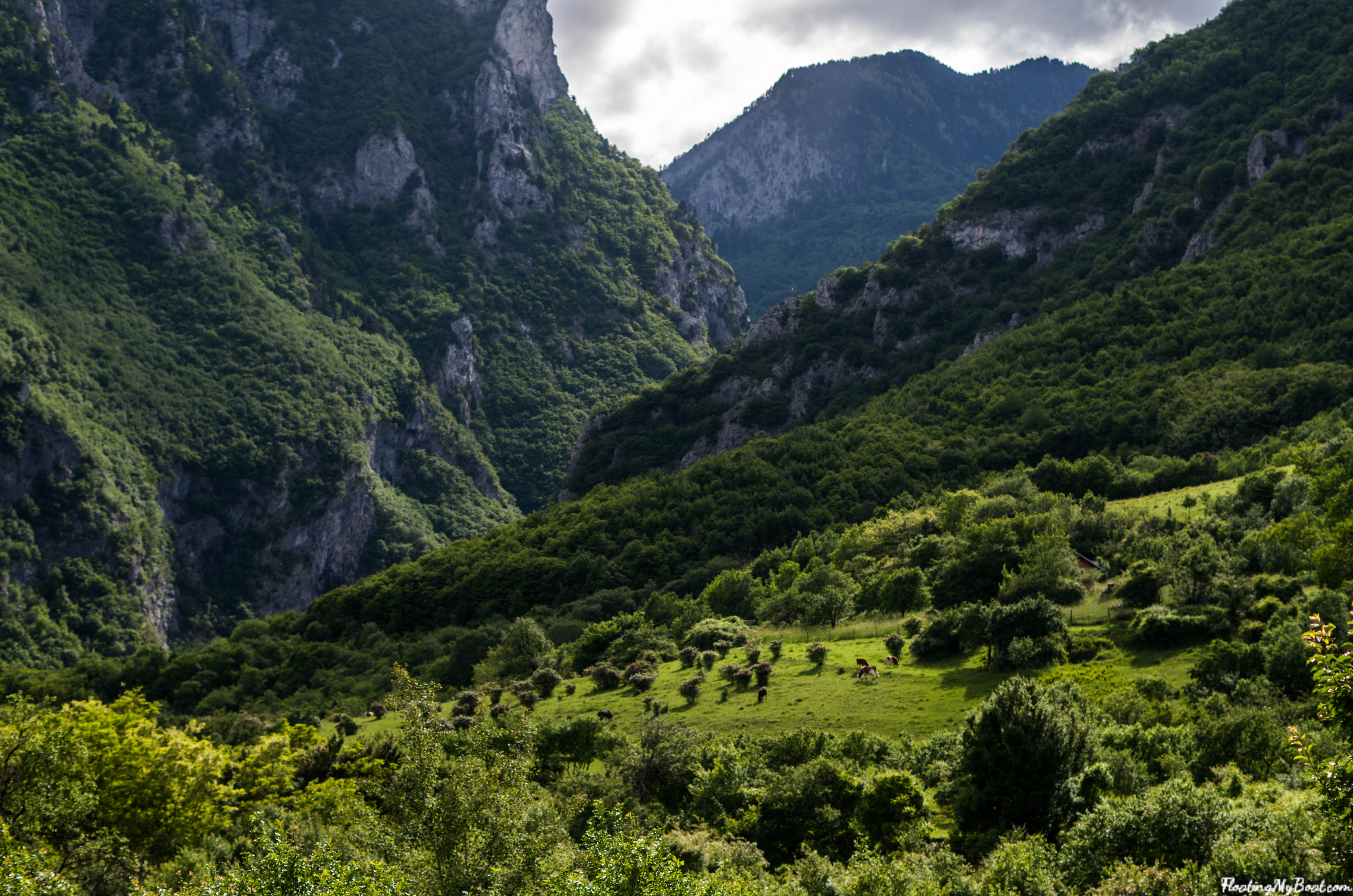 Peja Rugova canyon kosovo travel