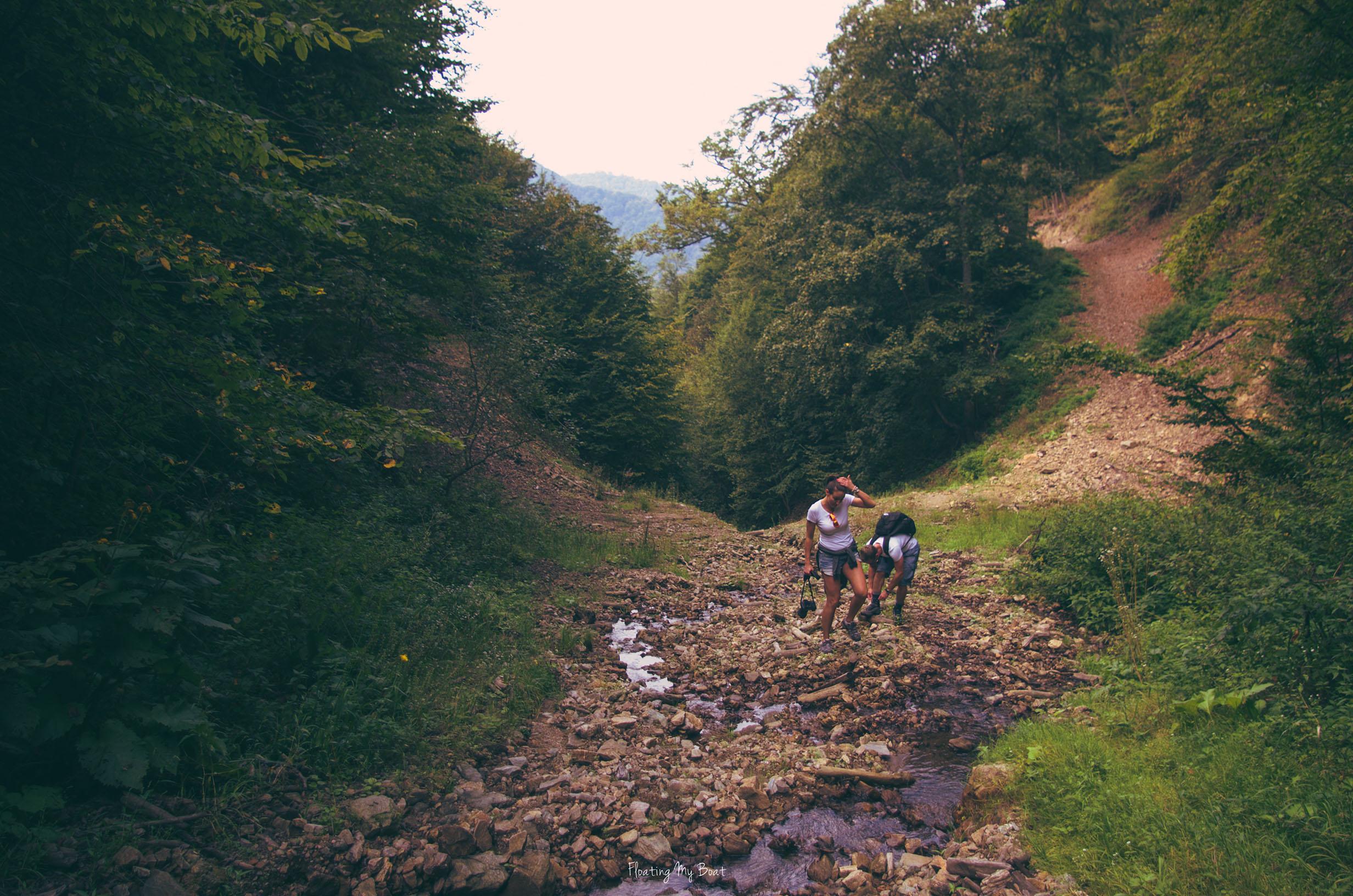 trekking-in-Transylvania-romania