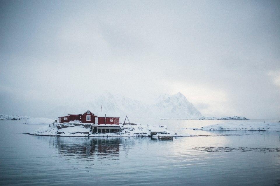 Lofoty Zimą – road trip po norweskim archipelagu cz. I