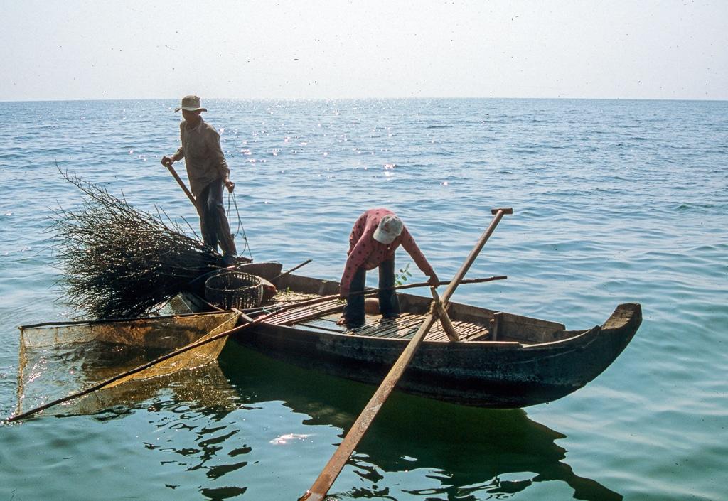 Shrimp Fishing Cambodia