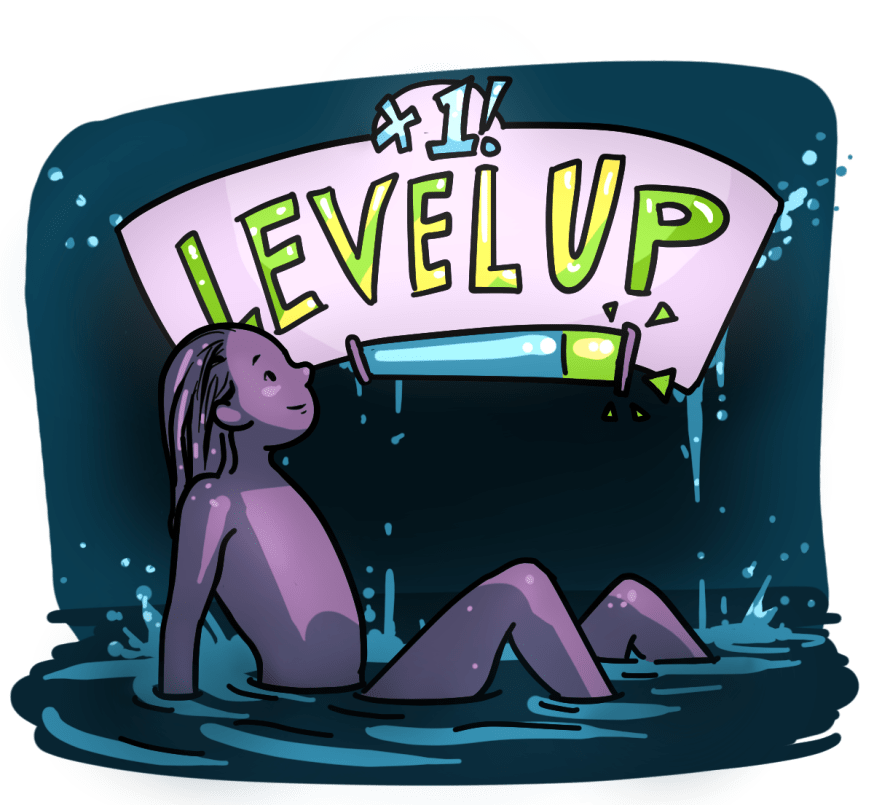 Level Up by Floating to a Better you