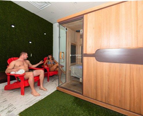 Infrared Sauna @ Float Valley