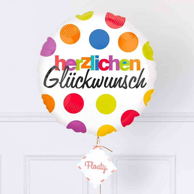 Geburtstagsballon Mit Punkten Das Originelle Geschenk Floaty