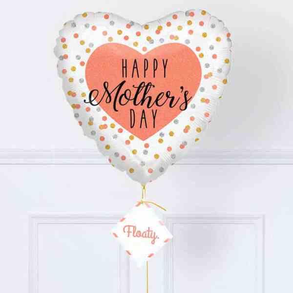 Herzluftballon Muttertag zoom