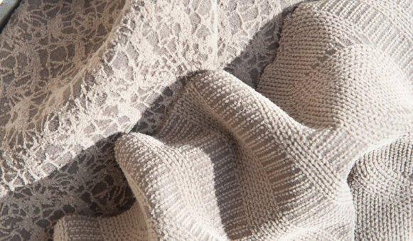 tessuto floccato