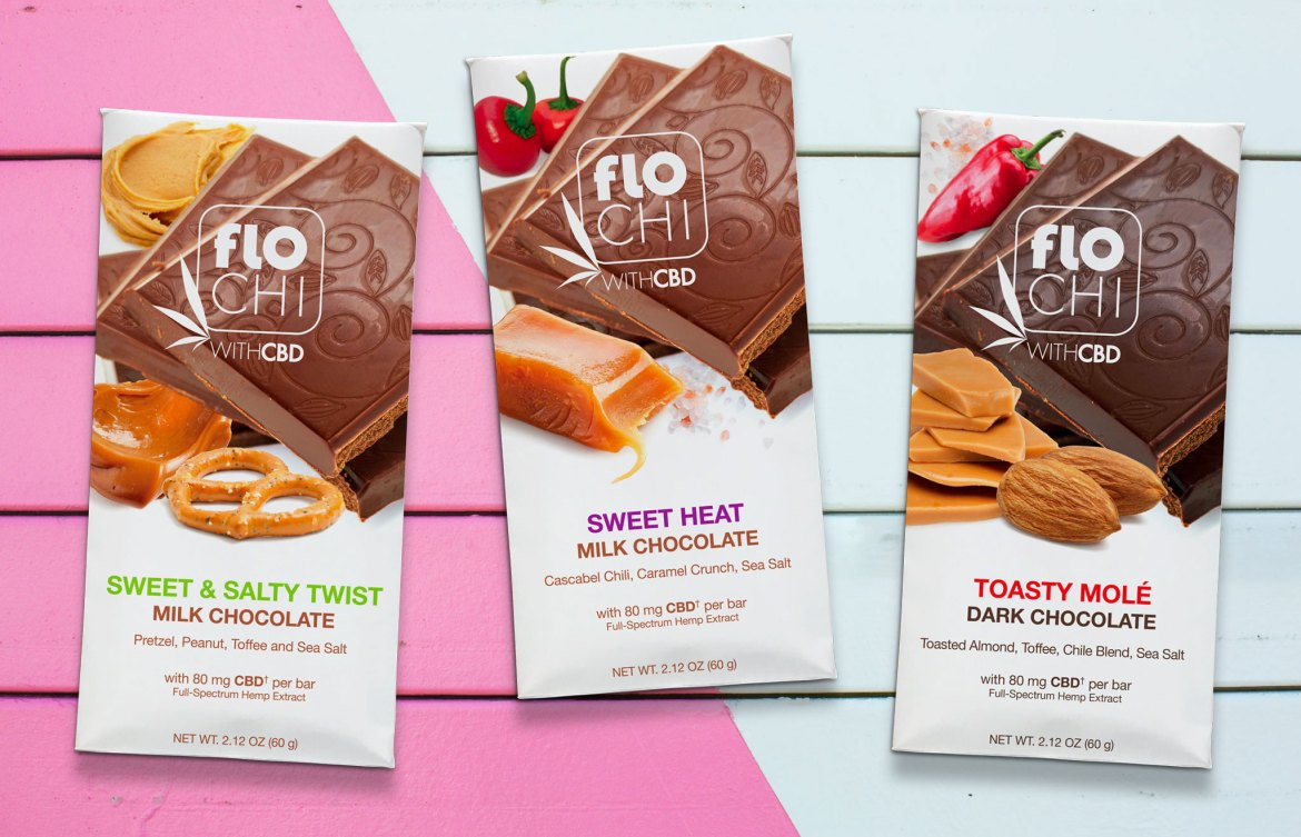 FloChi CBD Chocolate Bars