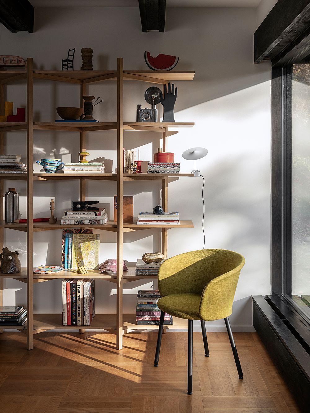 Vasagle corner shelf, 5 level hanging shelf, rack zigzag design, bookcase, 20 x 20 x 127.5 cm. Hem Zig Zag High Shelf Oak Finnish Design Shop