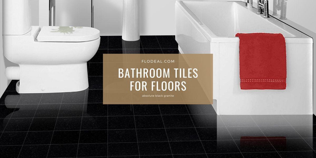 Black Granite Bathroom Floors