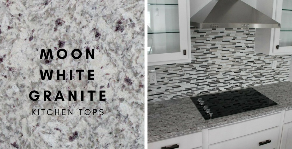 Moon White Granite Kitchen Countertops