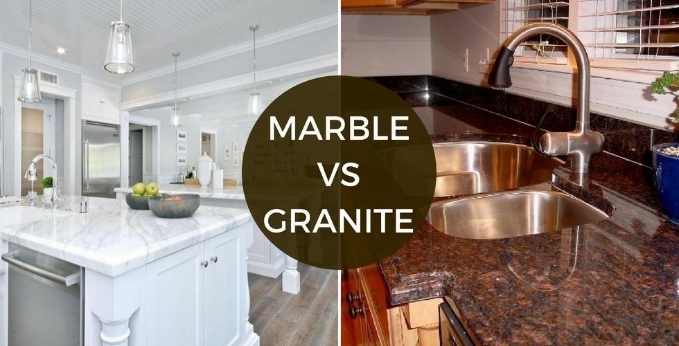 Atemberaubend Vergleicht man Marmor und Granit | Haltbarkeit Preis Aussehen Stain @LL_92