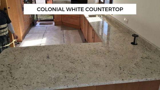 Colonial White Granite Countertop