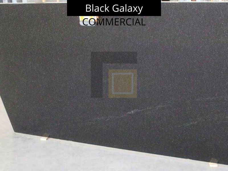 Commercial Quality Black Galaxy Granite