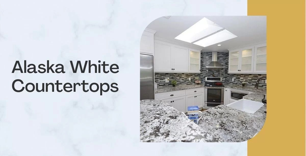 Alaska White Granite Countertops.