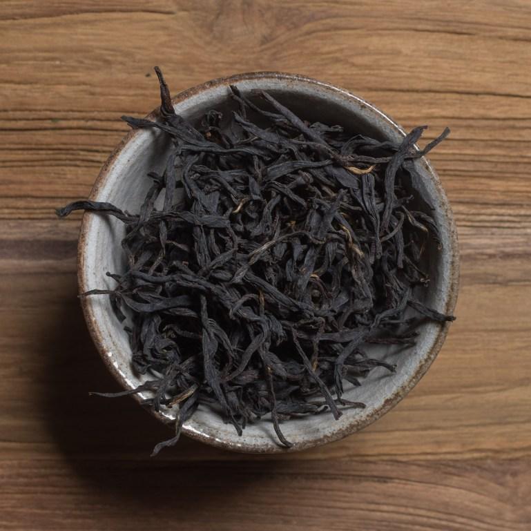 Jiangxi vildskördat svart - tebutik floder och berg / kinesiskt te