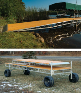Modular Aluminum Roll In Docks Are Rock Solid And Easy To Install Floe