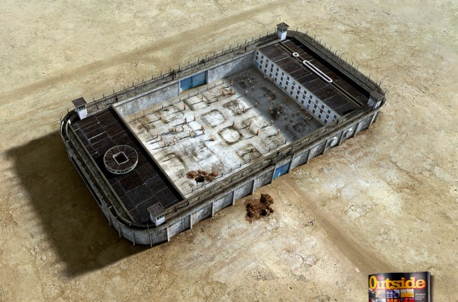 Felipe Luchi for Go outside: Jailhouses