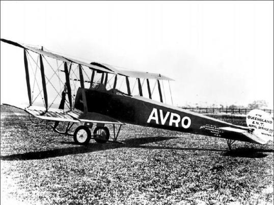 First plane 1922