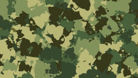 Camouflage pattern generator