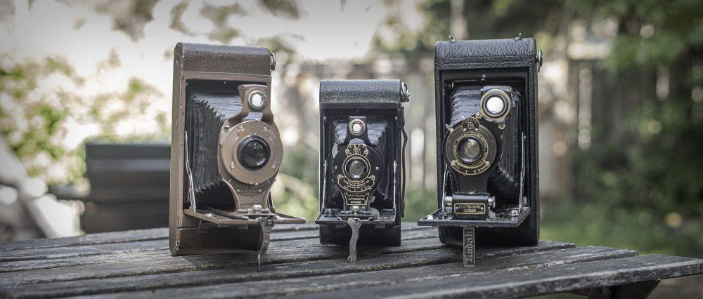 Kodak folding cameras