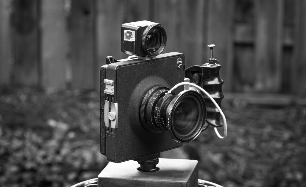 Linhof Technar large format camera