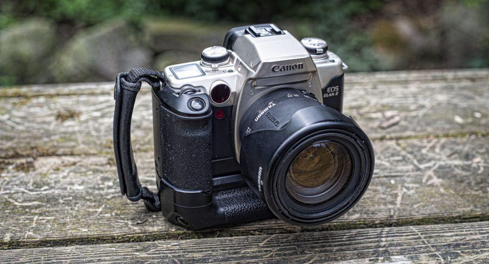 Canon EOS Elan ii camera