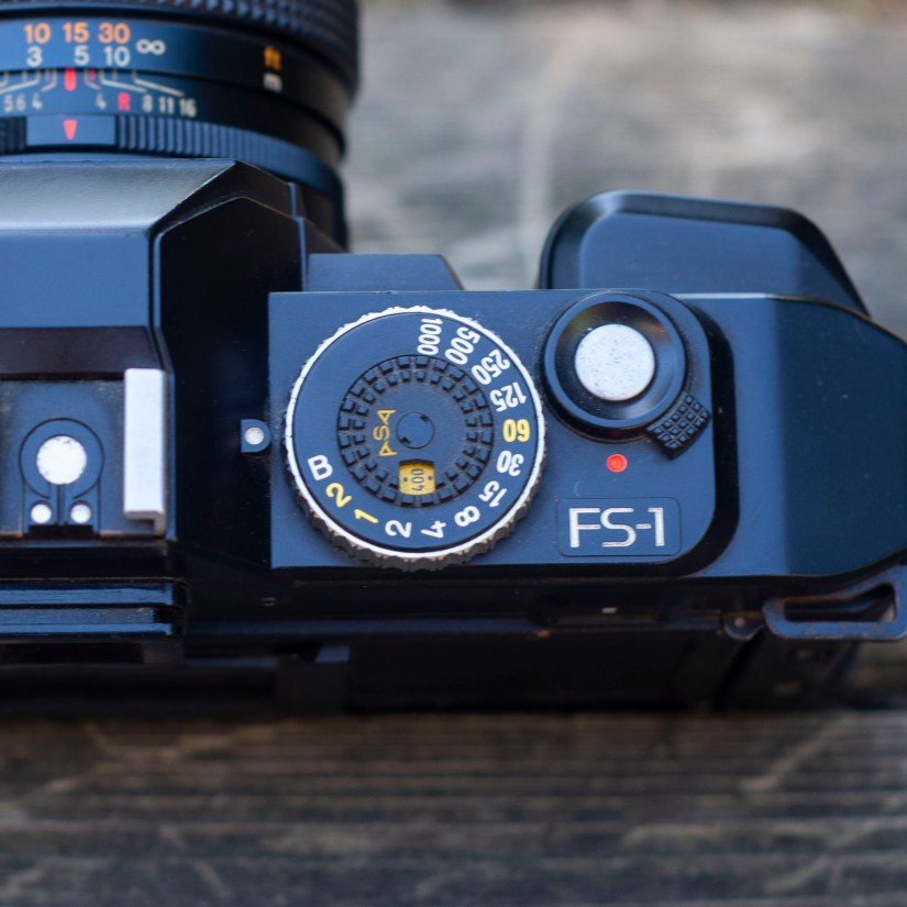 Konica FS-1 dial