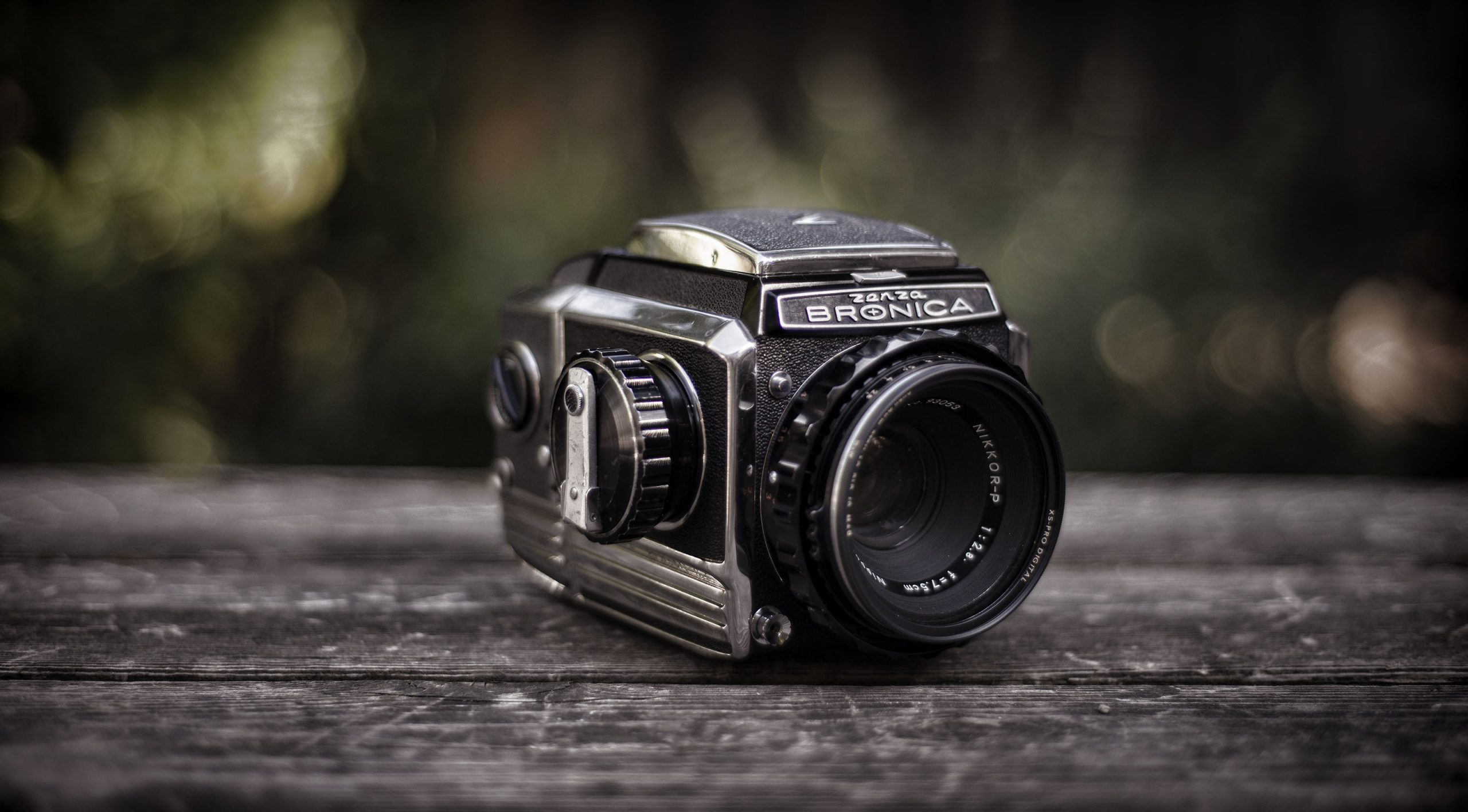Bronica S2 medium format film camera