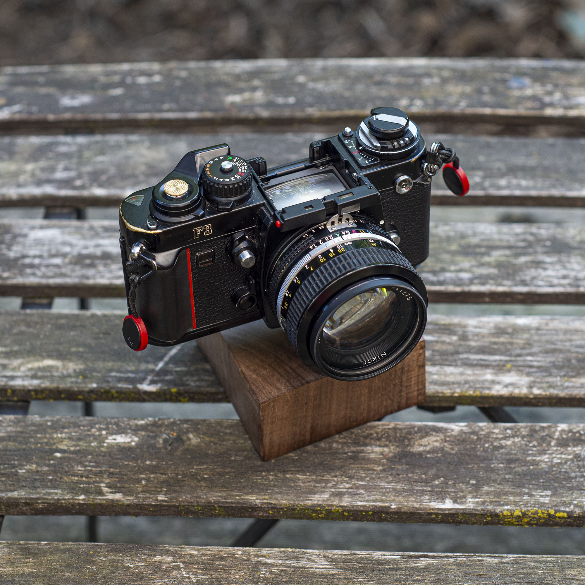 Nikon F3 with no finder