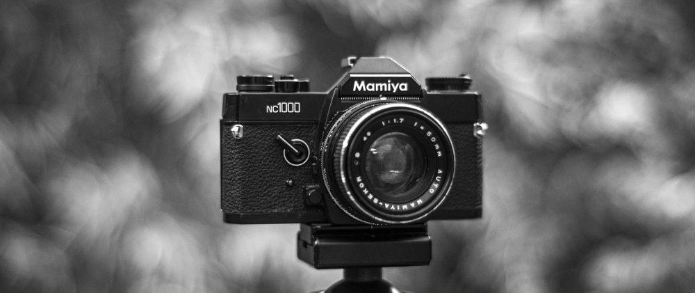 Mamiya NC1000 35mm SLR camera