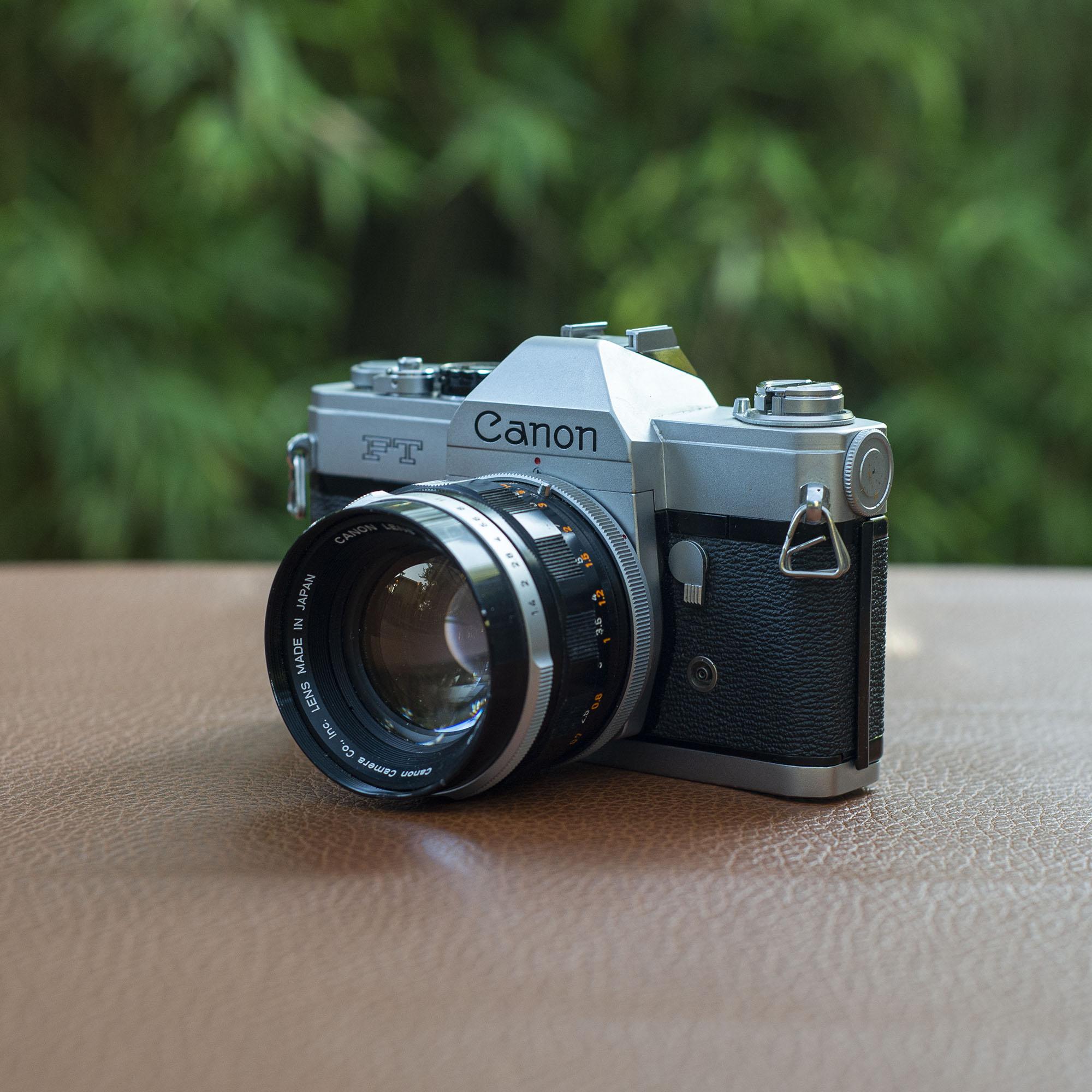 Canon FT 35mm camera