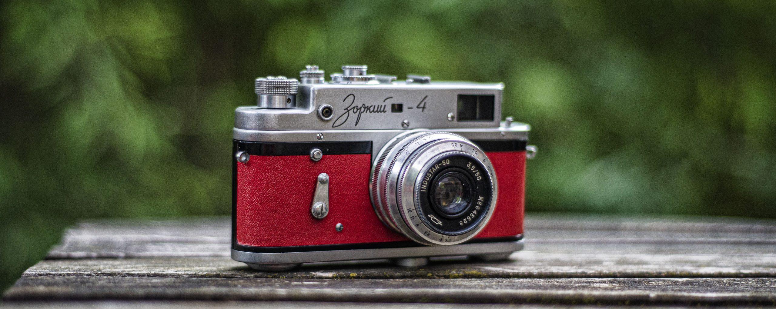 Zorki 4 35mm film camera