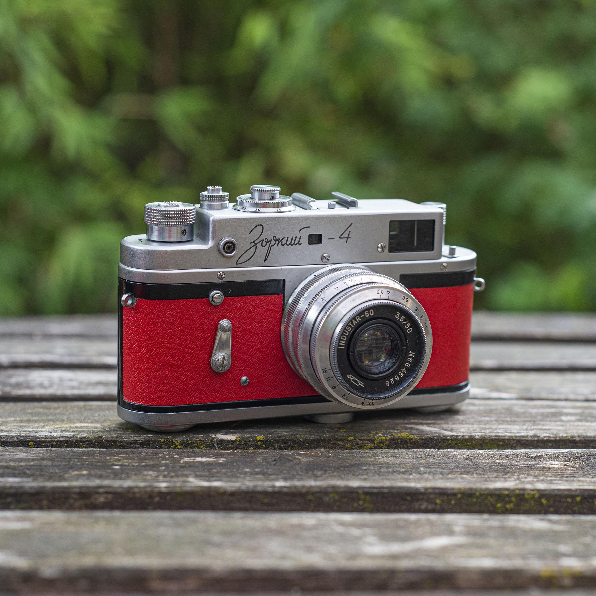 Zorki 4 camera with 50mm lens