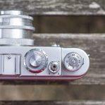 Zorki 4 control dials