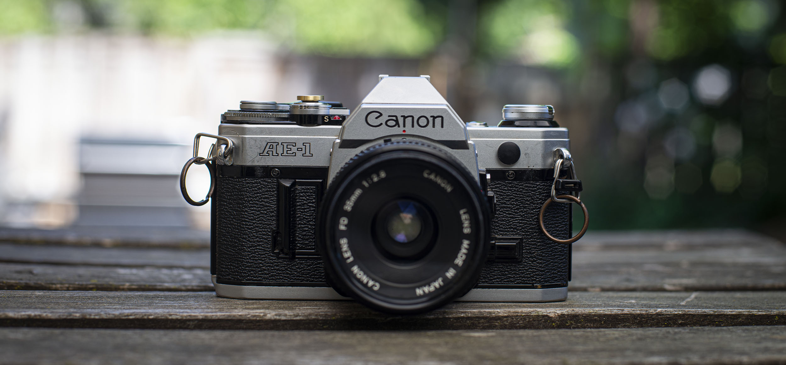 Canon AE-1 35mm film camera