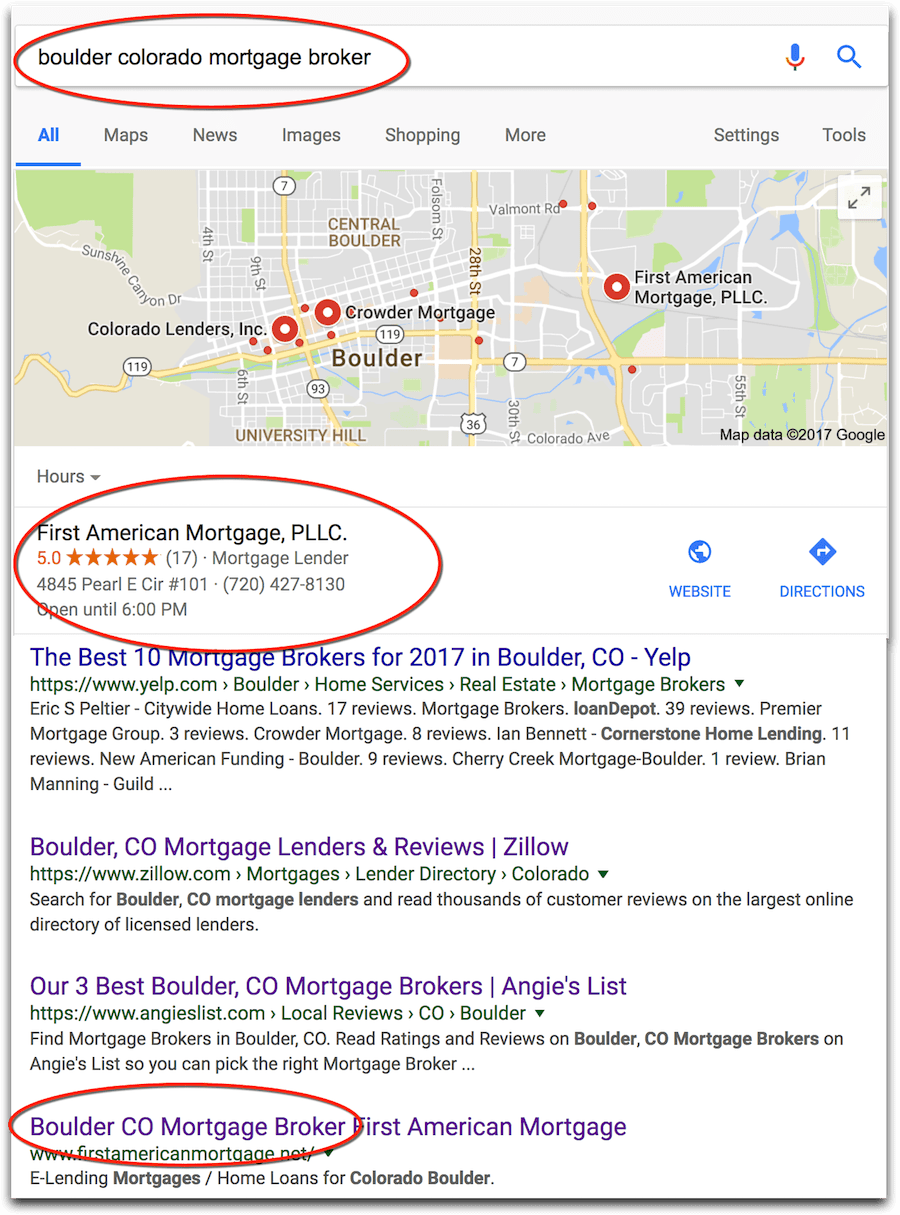 local listing seo helps drive qualified mortgage leads