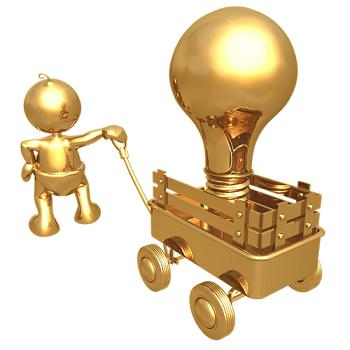 Invest in your idea, take a risk, and watch it turn into gold.
