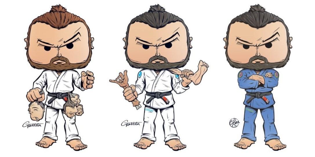 @BJJAfter40 Jiu-Jitsu Black Belt Mike 'Spider Ninja' Bidwell