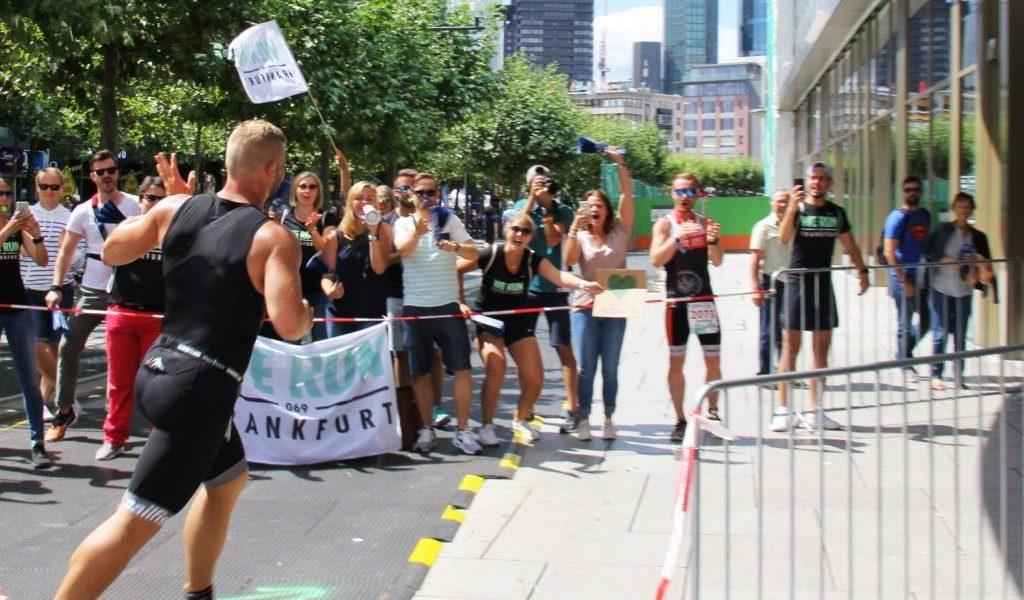 Erster Triathlon mit Hindernissen