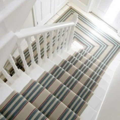 Striped Stair Carpet Cambridge