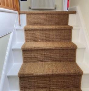 Sisal stair carpet