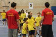 Clinic Campus Unihockey 2013 con Ernesto y Toni