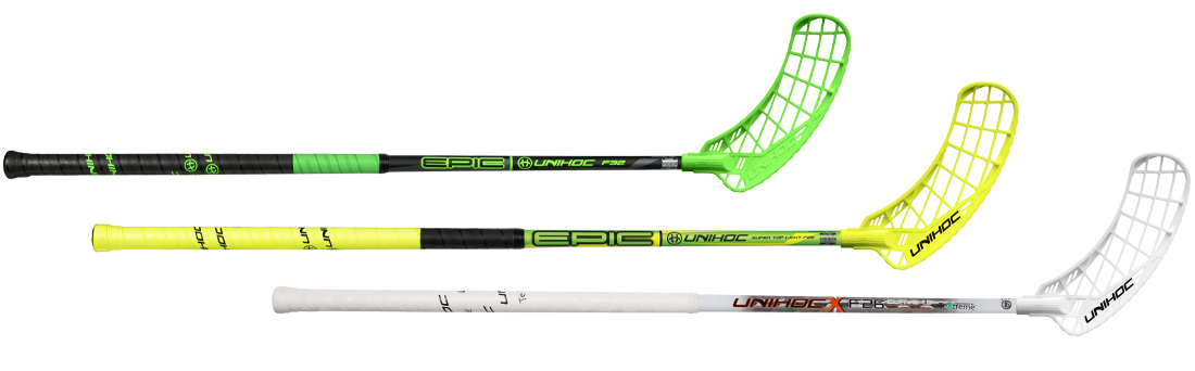 3 of 14 models - Epic 32, Super Top Light and TeXtreme Curve 1.0° 26.