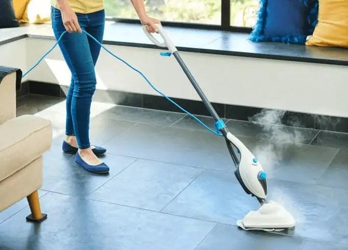 do steam mops damage tile floors