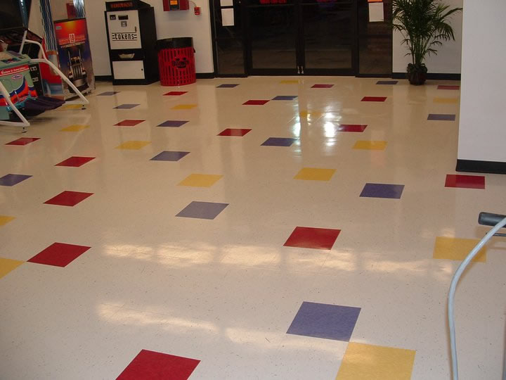 vct floor stripping and waxing