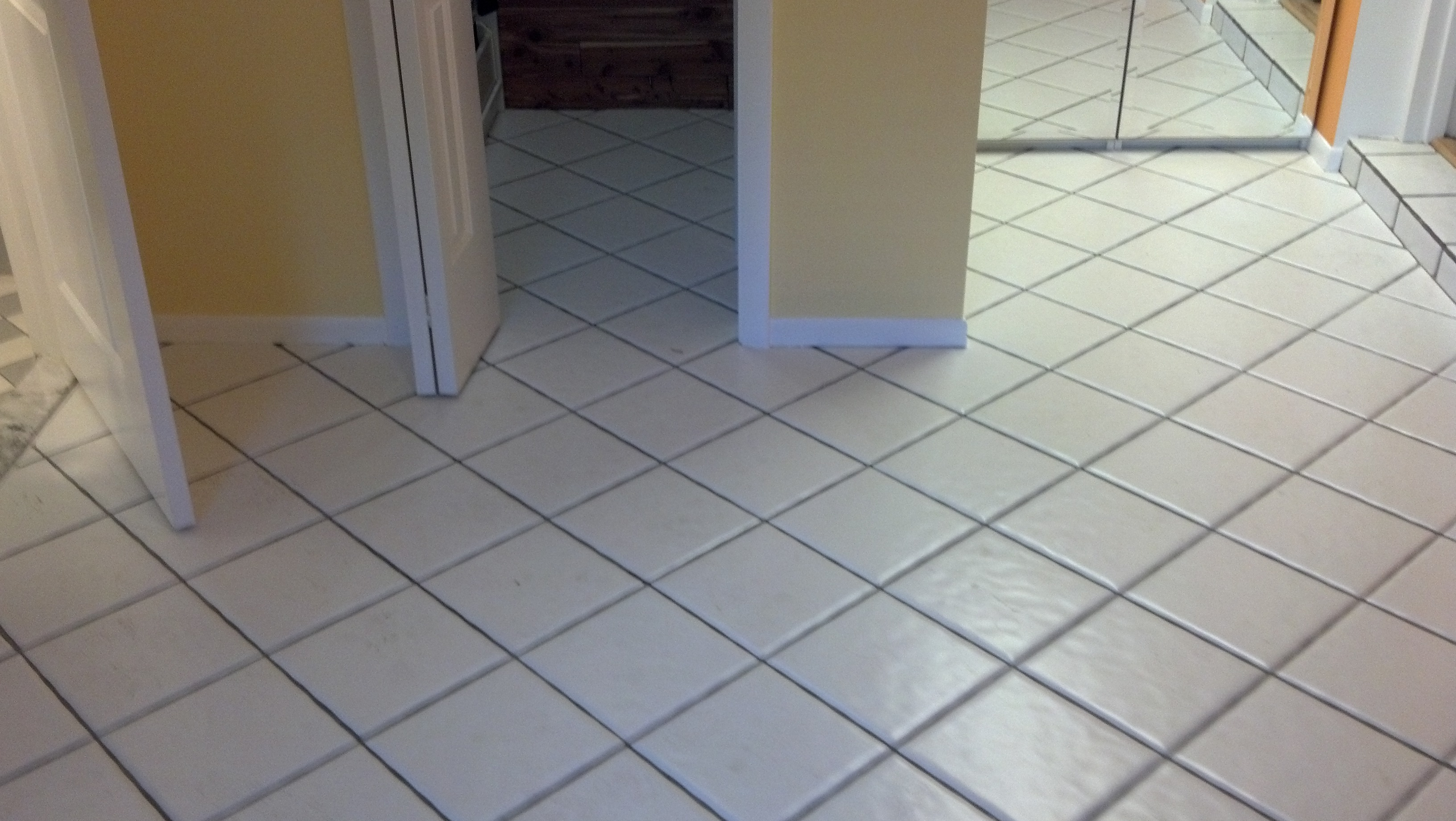 Our Ceramic Tile And Grout Cleaning Gets Grout As Clean As