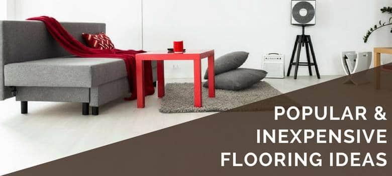 cheap flooring ideas 6 inexpensive options