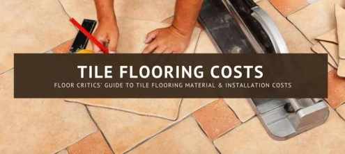 Tile Installation Cost   Materials Prices 2018   Estimates  Averages     Tile Flooring Cost   Installation Price